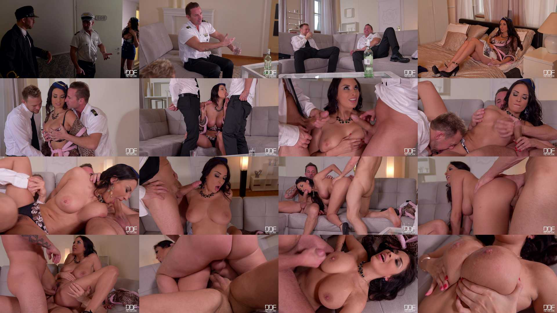 Anissa Kate in Ready For Jackoff: Busty Babe Titty Fucked And Ass Fingered!